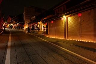 Narita Drum Festival成田太鼓祭・成田山千年夜舞台からの千灯路