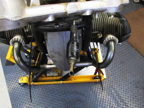 Steering Damper Removed From Adjuster Mechanism