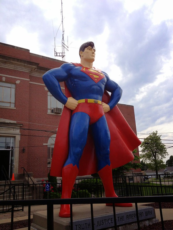 Superman in Metropolis