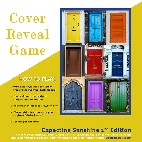 Cover Reveal Game for the book Expecting Sunshine!