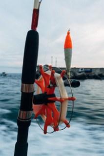Embarking on squid fishing evening!