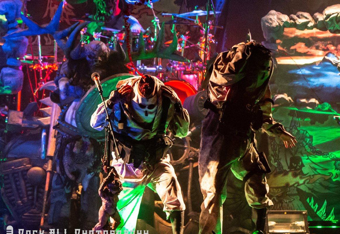 GWAR performing at Bogart's in Cincinnati, OH 12/28/18