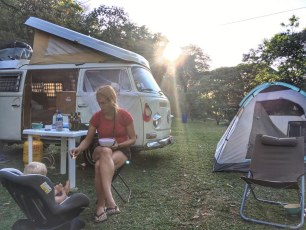 Camping with toddler Isa