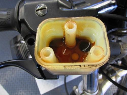 Front Brake Fluid-Ugly!!!!