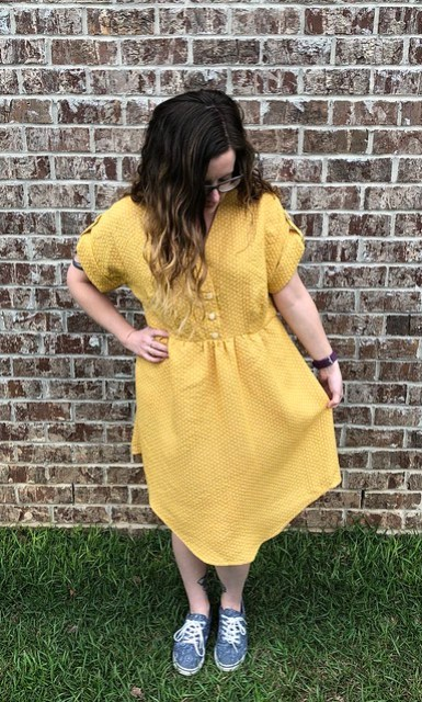 Chalk & Notch Fringe Dress