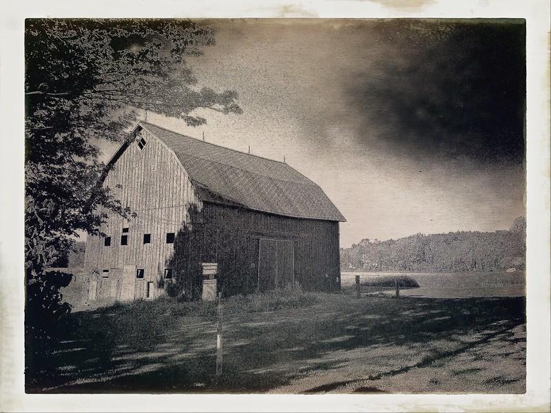 Barn outside Hamburg, New York