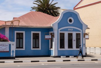 Een dag later struinden we door Swakopmund.