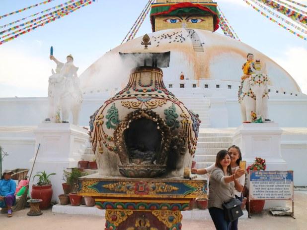 Excursión a Boudhanath en un viaje a Katmandú de 3 días