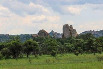 Je snapt inmiddels dat de rotsformaties de belangrijkste attractie zijn in dit park.