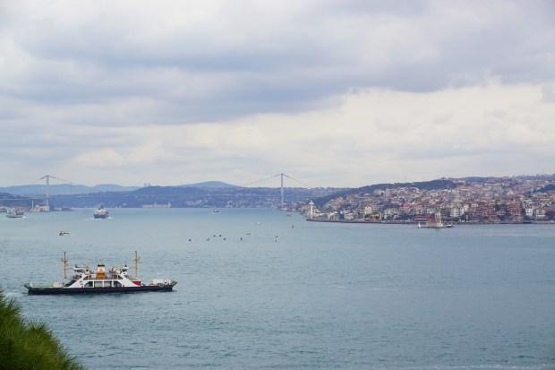 The Bosporus, seen from Topkapı Palace