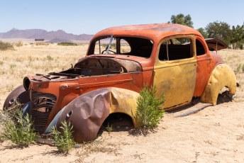 Niet alle auto's overleven zulke condities.