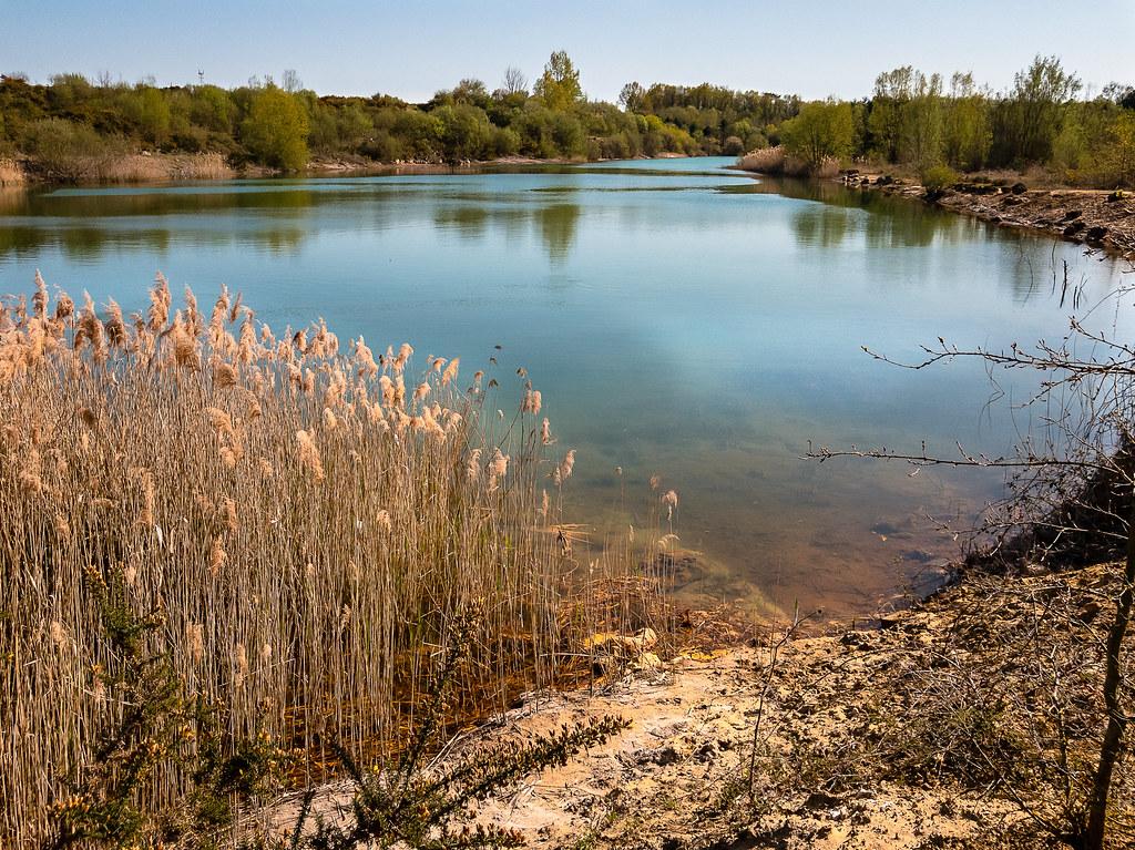 Lac de l'ancienne carrière du Font de Benon