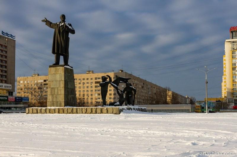 Памятник Ленину на площади Ленина, Нижний Новгород