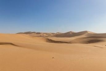 Ik dacht leuk, net als in Merzouga-Marokko lekker met een quad door de duinen raggen.