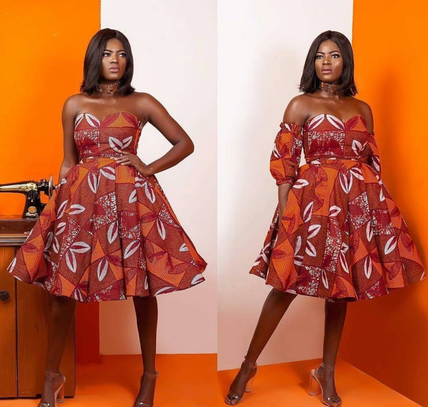 Ankara Gown Styles For 2019