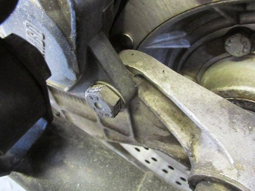 Rear Brake Caliper Rear Upper Bolt