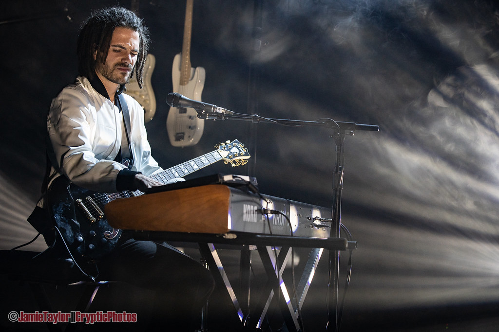 Photo gallery of French multi-instrumentalist producer FKJ performing at The Commodore Ballroom in Vancouver, BC on April 5th, 2019
