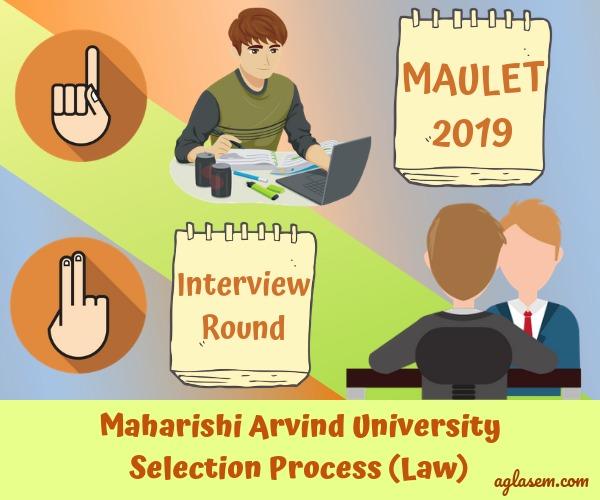 Maharishi Arvind University Law Entrance Test 2019