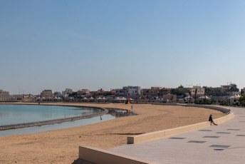 Mooi strand wel daar, en je hebt het ook lekker voor jezelf.