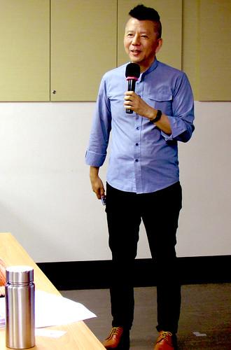 陳歷渝講述設計師如何換位思考/照片由終身教育部提供