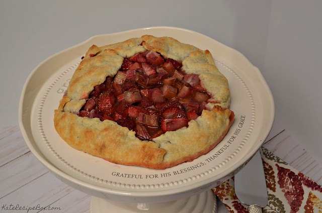 Strawberry Rhubarb Galette 2