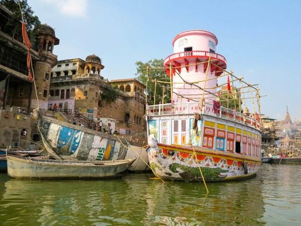 Navegando por el Ganges