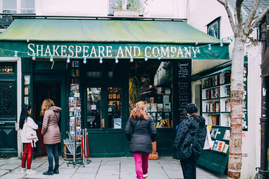 Libreria Shakespeare and Company, Parigi