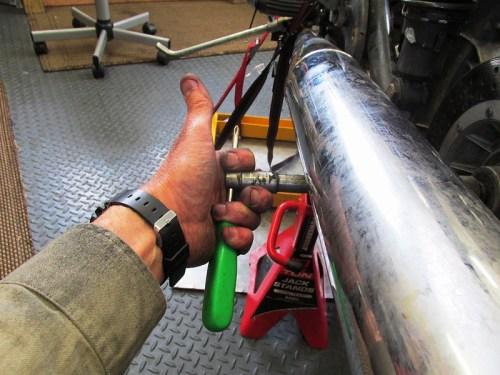 Remove Rear Axle