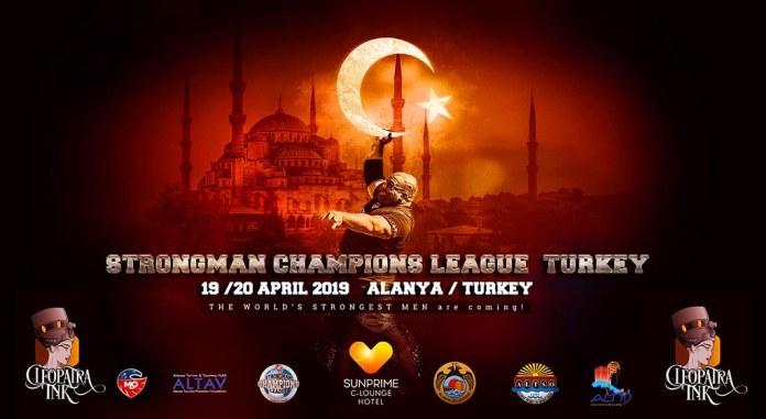 Strongman Champions Alanya'ya katılacaklar belli oldu