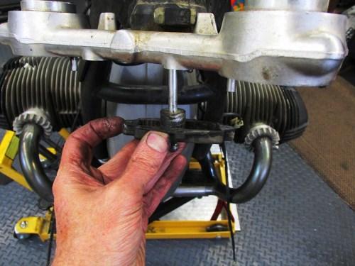 Removing Steering Damper Adjuster Mechanism With Adjuster Rod
