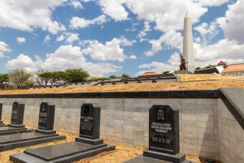 De belangrijkste strijders voor de onafhankelijkheid liggen hier begraven.