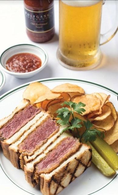Katsu steak sandwich