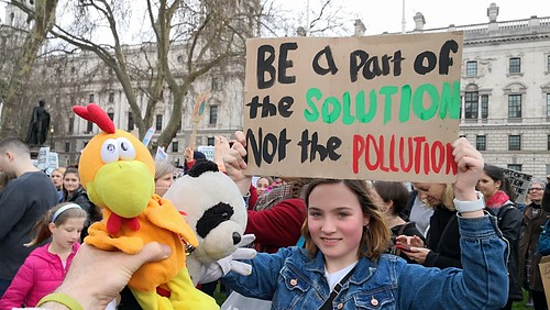 Fridays For Future - Student Climate Strikes London England UK