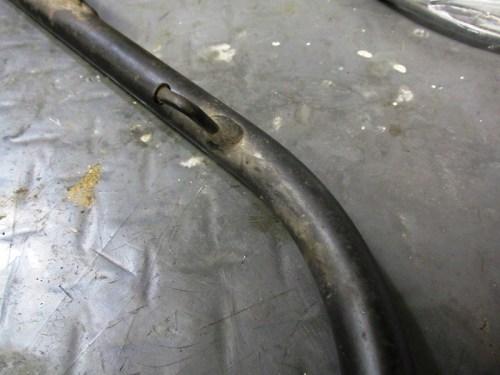 Sub-frame Tire Pump Bracket