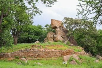 Khami was ooit de hoofdstad van het Kalanga koninkrijk van Butwa.