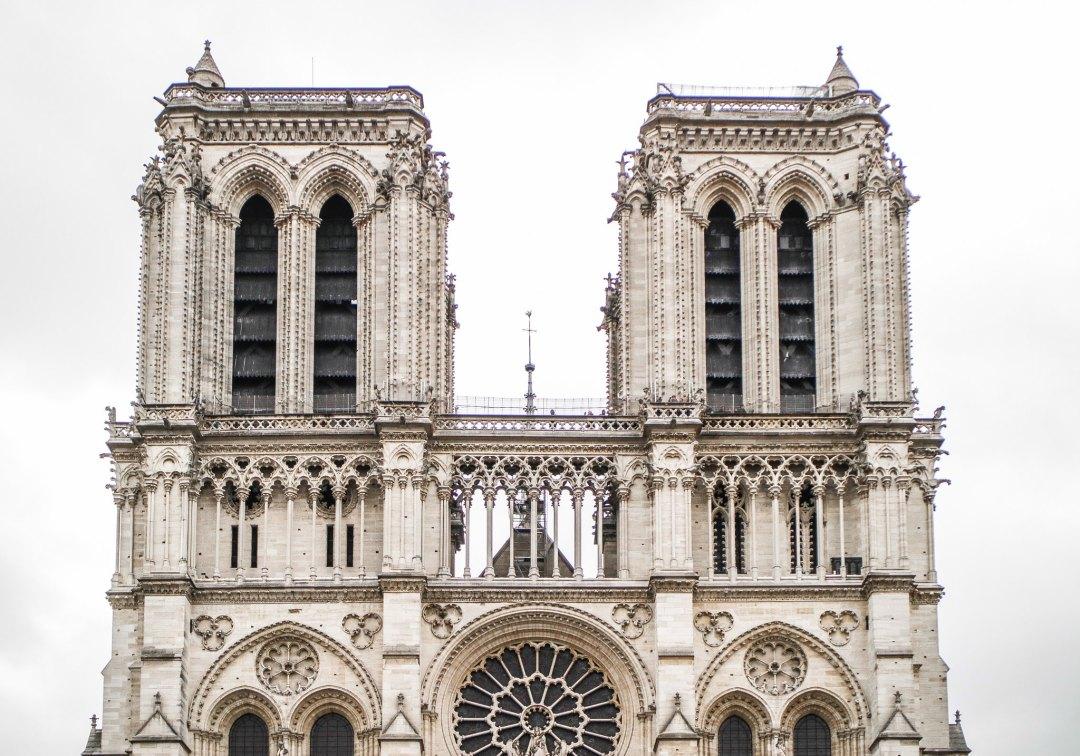 Cattedrale di Notre-Dame de Paris, facciata