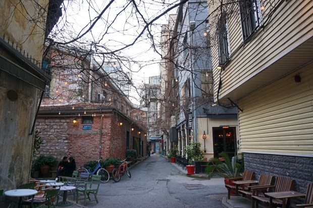 The funky neighborhood of Karaköy