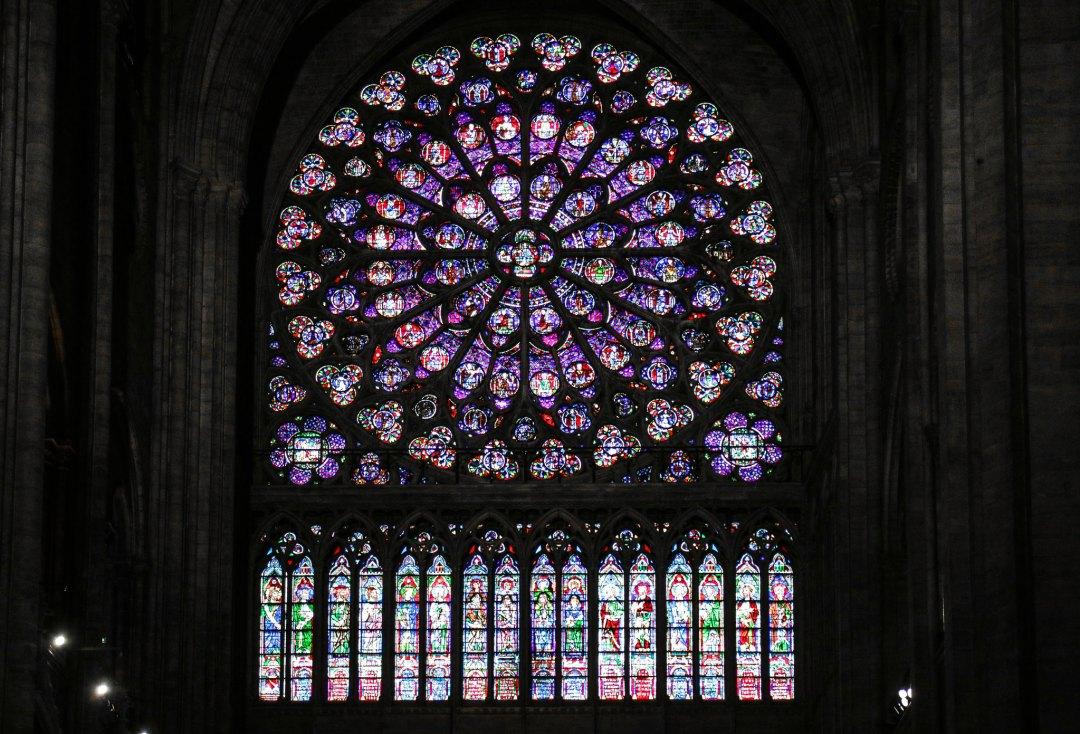Notre-Dame Parigi, rosone