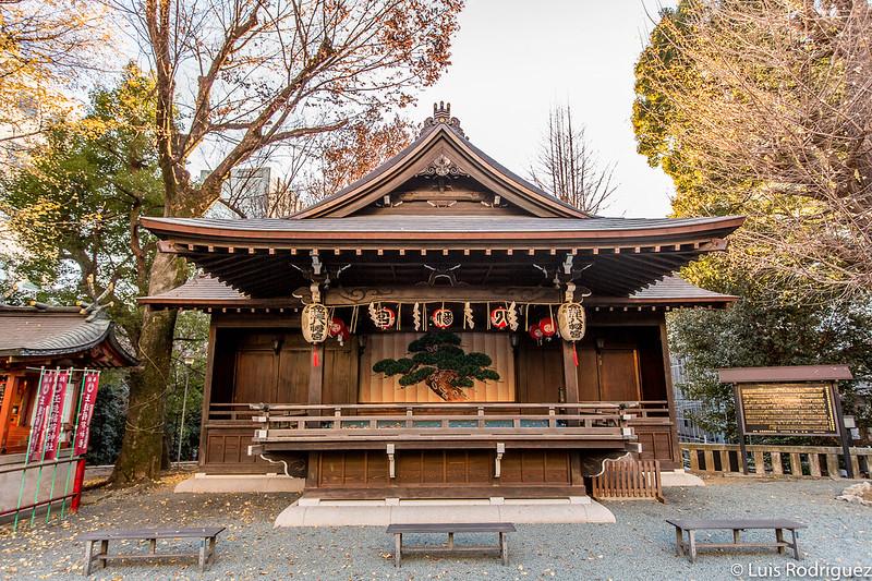 Escenario de teatro nō