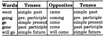 RBSE Class 7 English Vocabulary Opposites 2