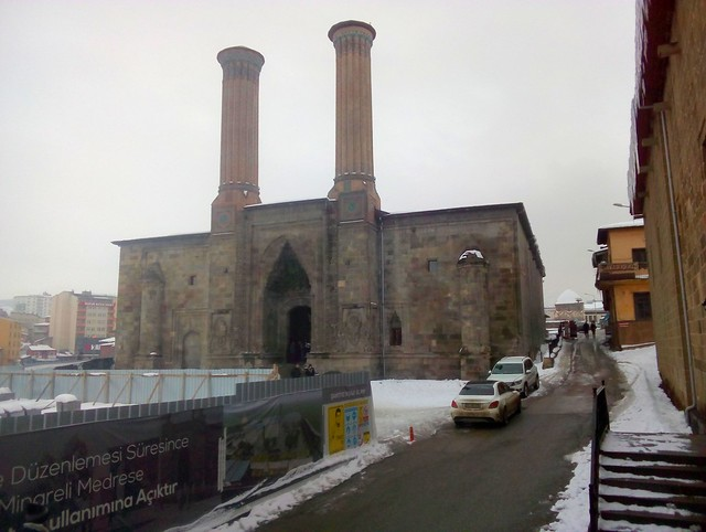 This is the first time I've been to Erzurum when the Çifte Minareli Medrese has been open. by bryandkeith on flickr