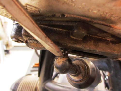 Remove Steering Damper Front Cup From Ball in Adjuster Mechanism