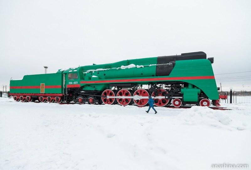 """музей """"Паровозы России"""", Нижний Новгород, Паровоз П36-0071"""