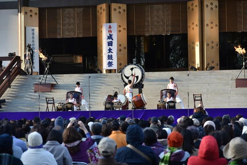 成田山千年夜舞台 和太鼓 凪ジュニアチーム(千葉県いすみ市)