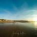 coucher de soleil sur les falaises du Cap-blanc-Nez
