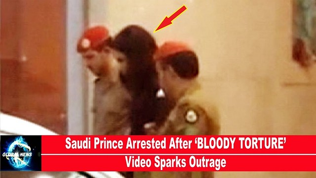 3972 Saudi Prince arrested for threating with Machine Gun in Public 00
