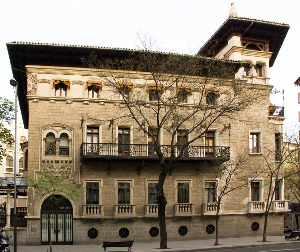 Palacio o Casa de los Garay calle Almagro Madrid 03