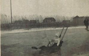 Spijkerboor - Schaatsen op de Knollendammervaart