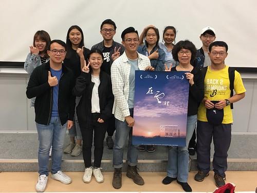 詹皓中導演與「鏡在咫尺」工作人員合照