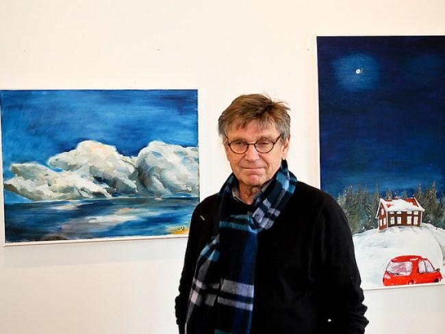 - Vi hoppas att få vara kvar i våra lokaler. Ohla Söderlund, som har sin ateljé i Rådhuset, känner sig osäker inför framtiden.
